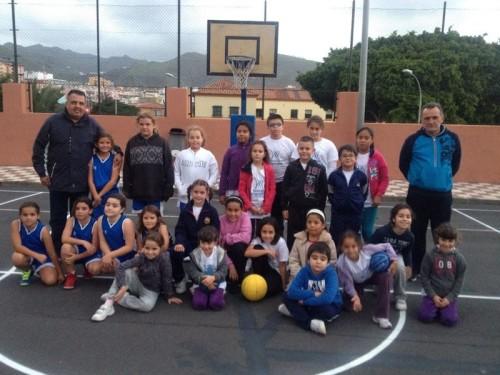 Escuela de Baloncesto - Colegio García Escámez