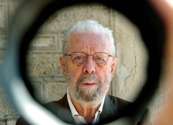 El director de cine Luis García Berlanga.
