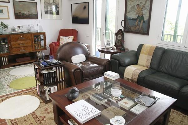Interior de la casa en Lanzarote, del Nobel de Literatura de 1998, José Saramago, que se abrirá el próximo viernes, coincidiendo con los nueve meses de su fallecimiento.
