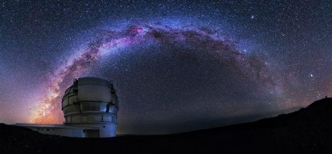 Gran Telescopio Canarias (GTC), el mayor telescopio óptico del mundo.