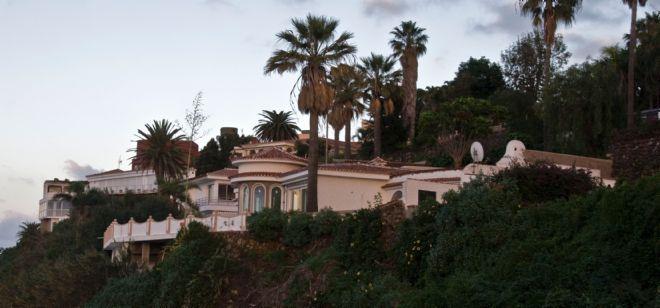 La nueva mansión de Paulino Rivero.