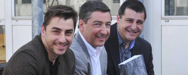 Los hermanos Jordi, Joan y Josep Roca.