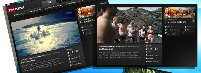 La cadena de televisión SRF 2 encontró en La Palma el lugar idóneo para grabar su programa de supervivencia.
