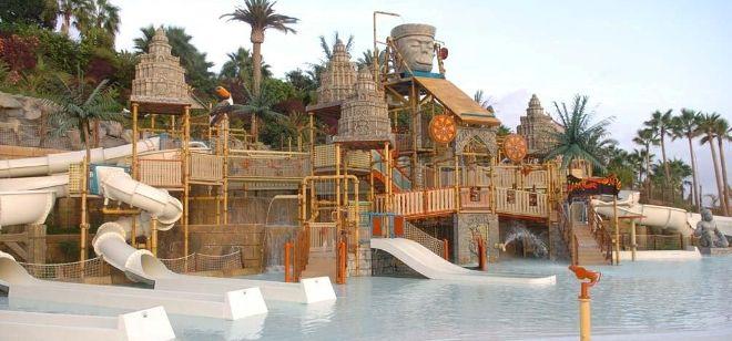 Los parques temáticos fueron los menos perjudicados, con una facturación de 176 millones de euros.