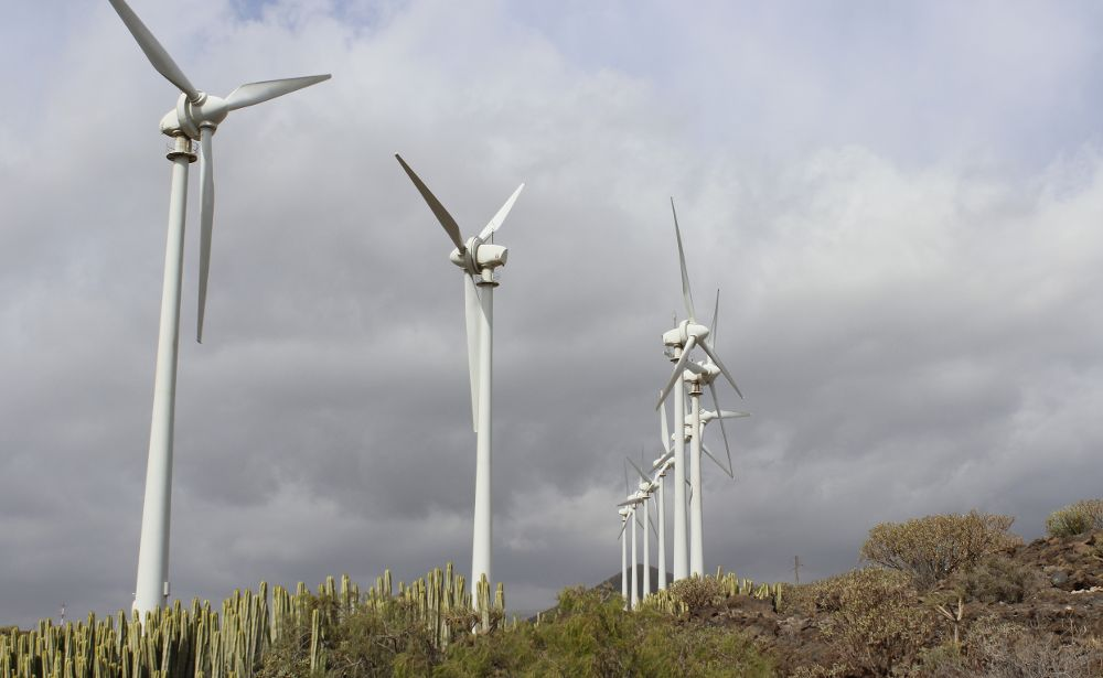 El Gobierno canario pretendía adjudicar la potencia eólica mediante autorización administrativa, figura que recurre el Ministerio de Industria.