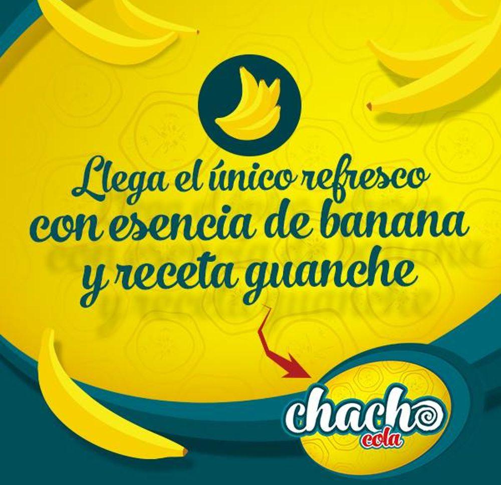 Uno de los mensajes publicitarios de la campaña de Chacho Cola.