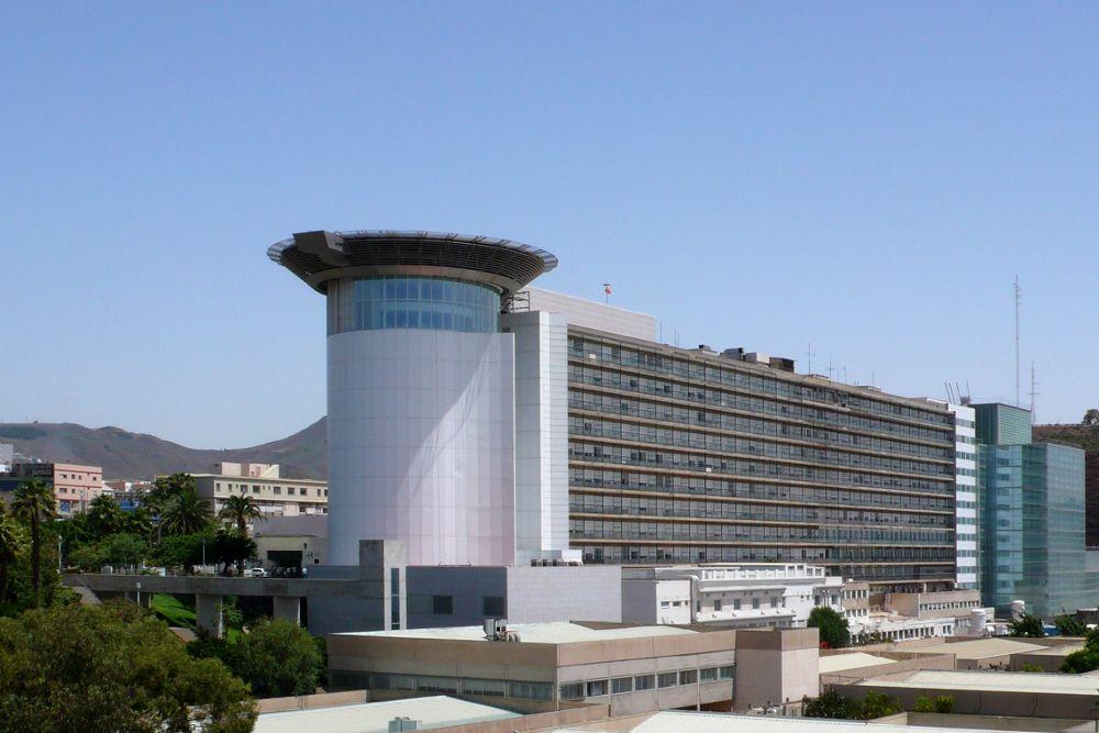 El Hospital Universtario de Canarias.