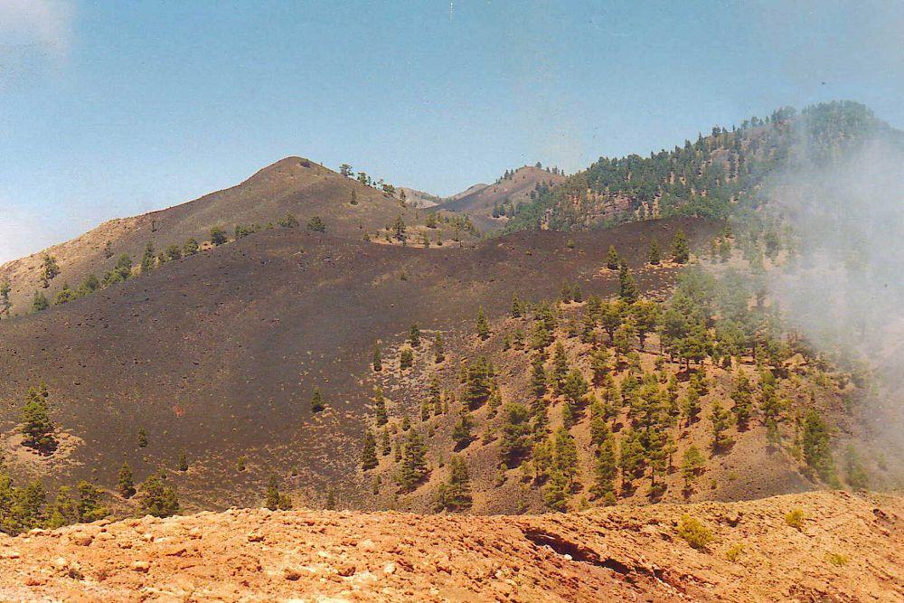 Volcán de Cumbre Vieja.