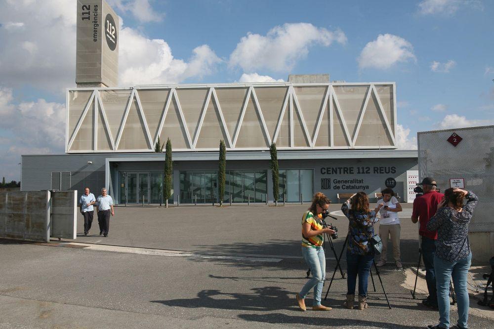 Vista de la sede central del servicio de emergencias 112 de la Generalitat, en Reus (Tarragona.