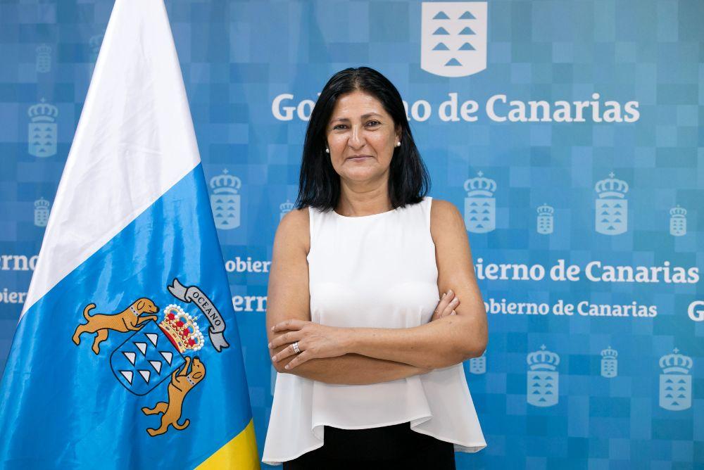 La directora general de Dependencia y Discapacidad del Gobierno de Canarias, Eulalia García.
