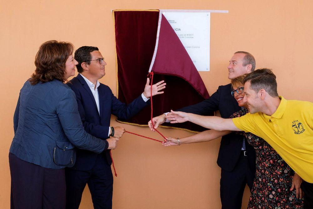 Inauguración del curso escolar en Canarias.