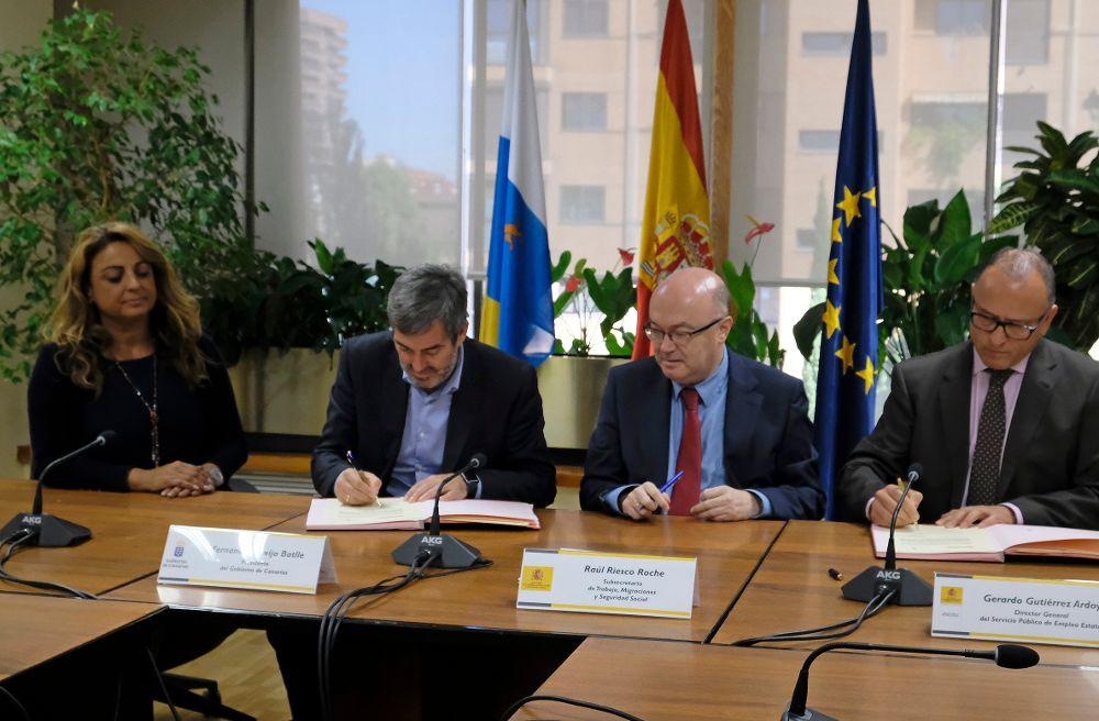 Canarias creará 4.000 empleos con los 42 millones del PIEC
