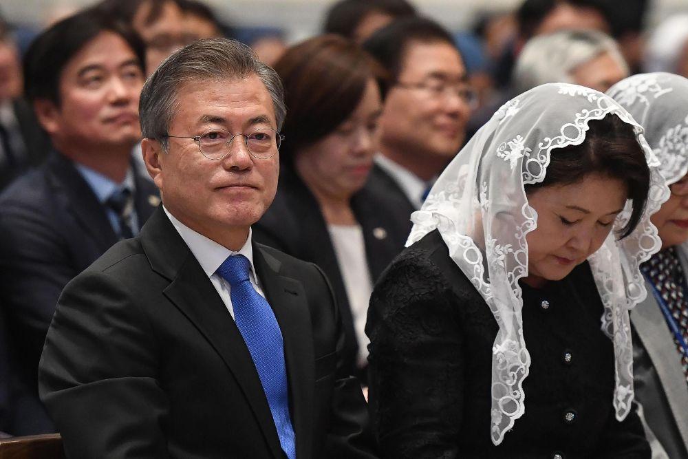El papa, dispuesto a visitar Corea del Norte si le invitan oficialmente