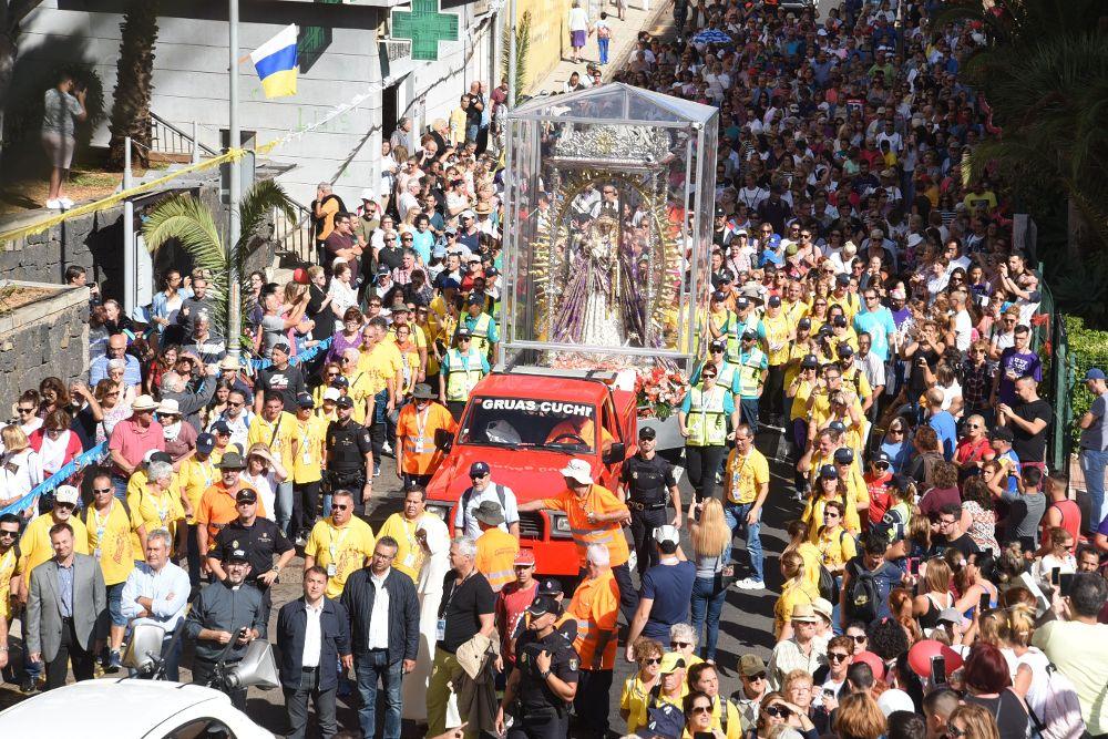 Histórica visita al Vaticano chicharrero
