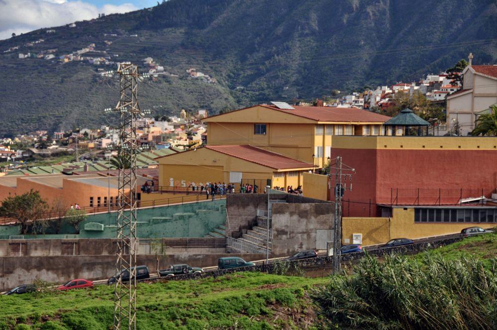 El instituto Orotava-Manuel González Pérez.