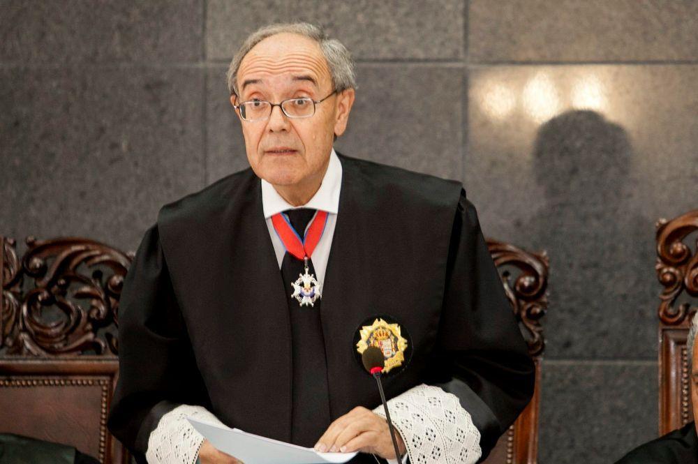 Vicente Garrido, fiscal general de Canarias.