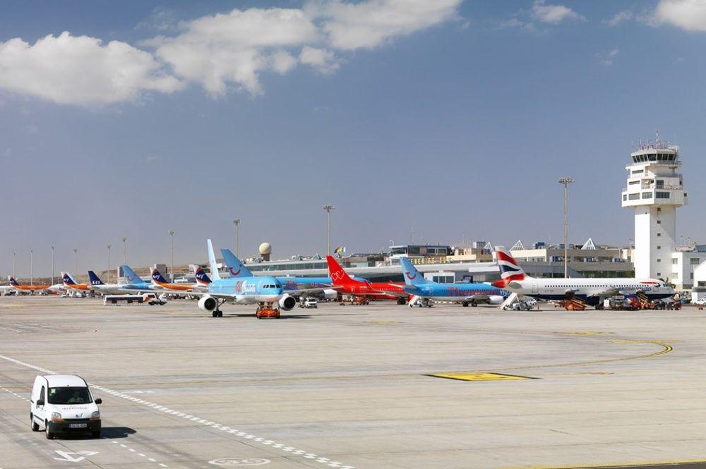 Aeropuerto de Tenerife Sur.