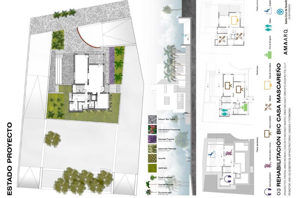 Plano de la casa, declarada Bien de Interés Cultural.