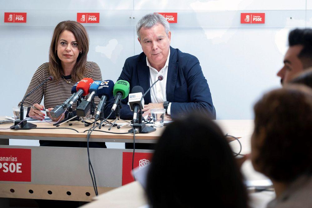 El PSOE cifra en 15.727 millones lo que deja el PGE en Canarias