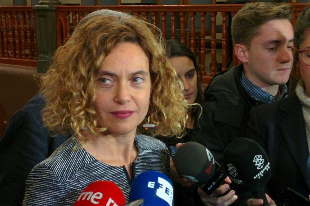 La ministra de Territorio Meritxell Batet sustituirá a Pedro Sánchez en la celebración.