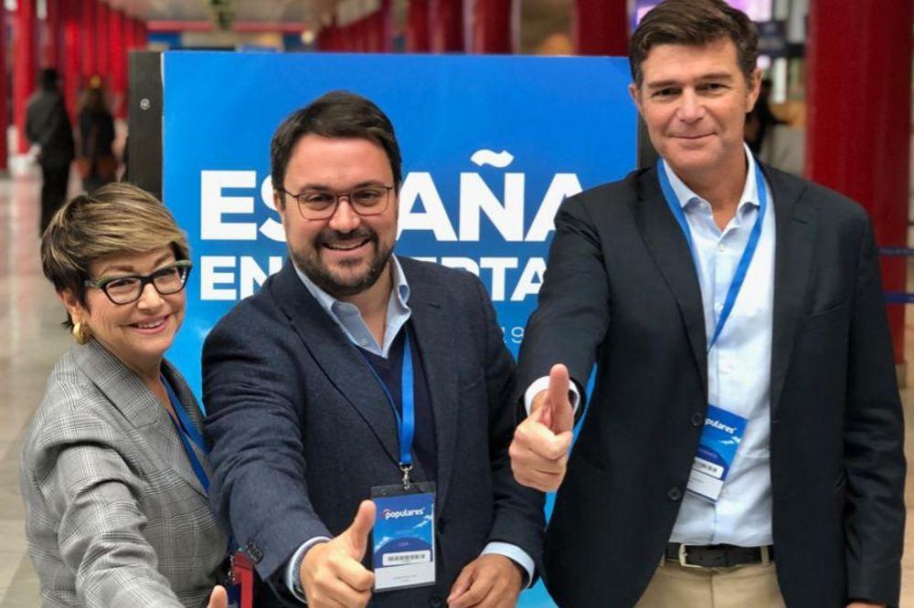 """Antona afirma que el""""rearme ideológico del PP llevará al centroderecha al Gobierno canario"""""""