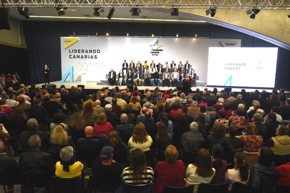 """Linares: """"En CC cada vez somos más y estamos más fuertes"""""""
