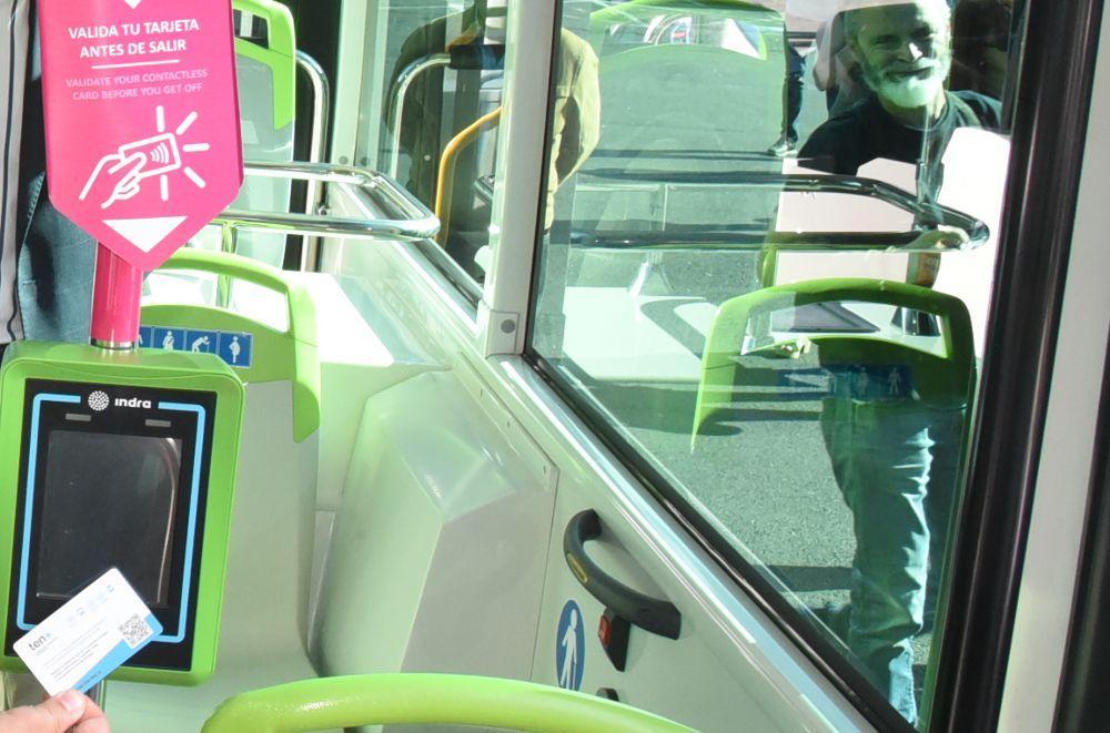 Los viajeros de guaguas urbanas suben un 9,4% en diciembre en Canarias