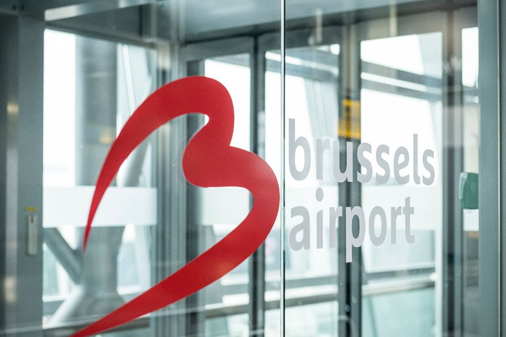 Aeropuerto de Bruselas.