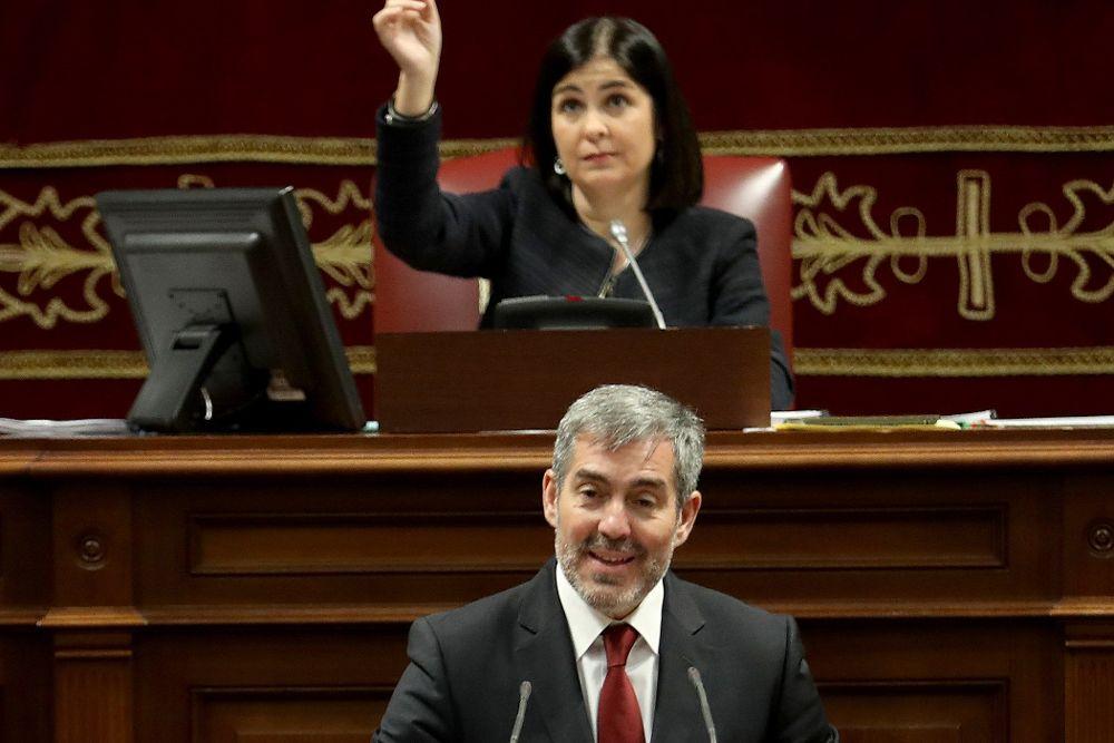Clavijo realza la legislatura del REF, el Estatuto y la recuperación