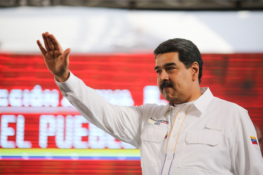 El presidente venezolano Nicolás Maduro durante un acto de gobierno este miércoles en el complejo agro-industrial Ezequiel Zamora, ubicado en San Francisco de Yare.