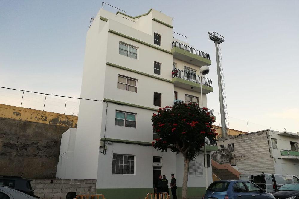 Detenido el hijo de la mujer asesinada en La Palma