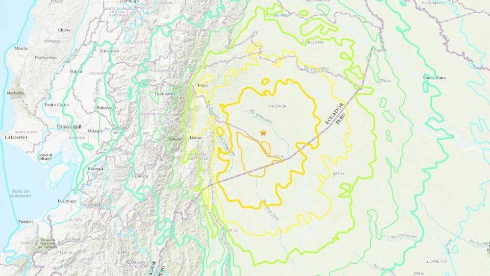 La Red Sísmica Canaria registra las poderosas ondas del terremoto de magnitud 7,5 entre Ecuador y Perú