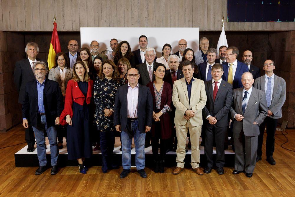 Imagen de los jurados de los Premios Canarias 2019.