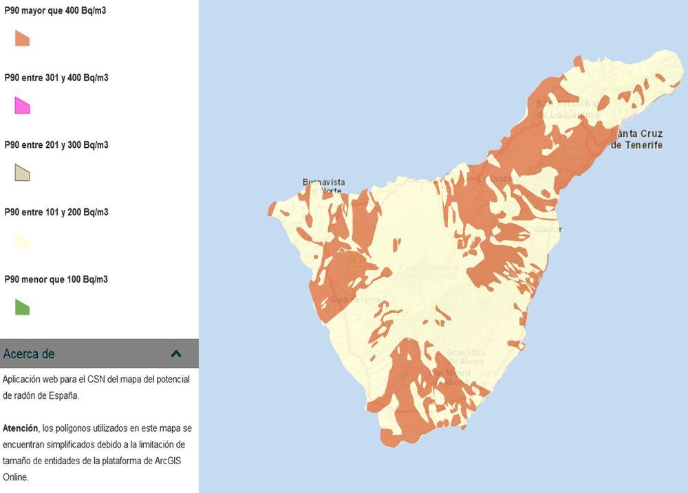 Canarias le exige al Estado que busque una solución al gas radón