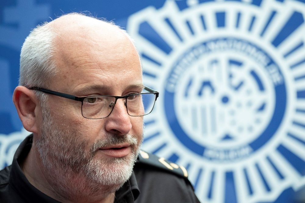 El jefe del grupo de homicidios de la Comisaría de Maspalomas, José Cabal.