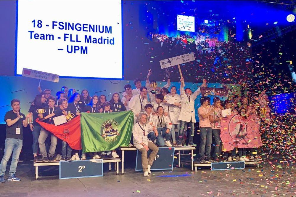 Fsingenium Team, Legotronic Beavers e Invictus Lego, campeones de la Gran Final First Lego League España