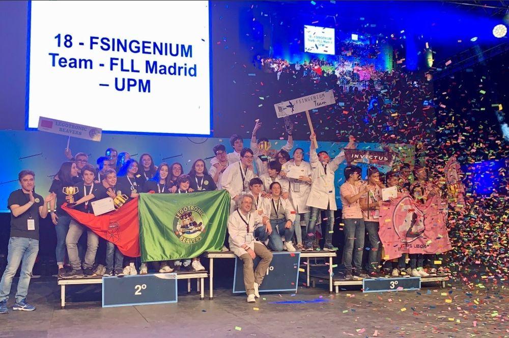 Vídeos de la Gran Final First Lego League España