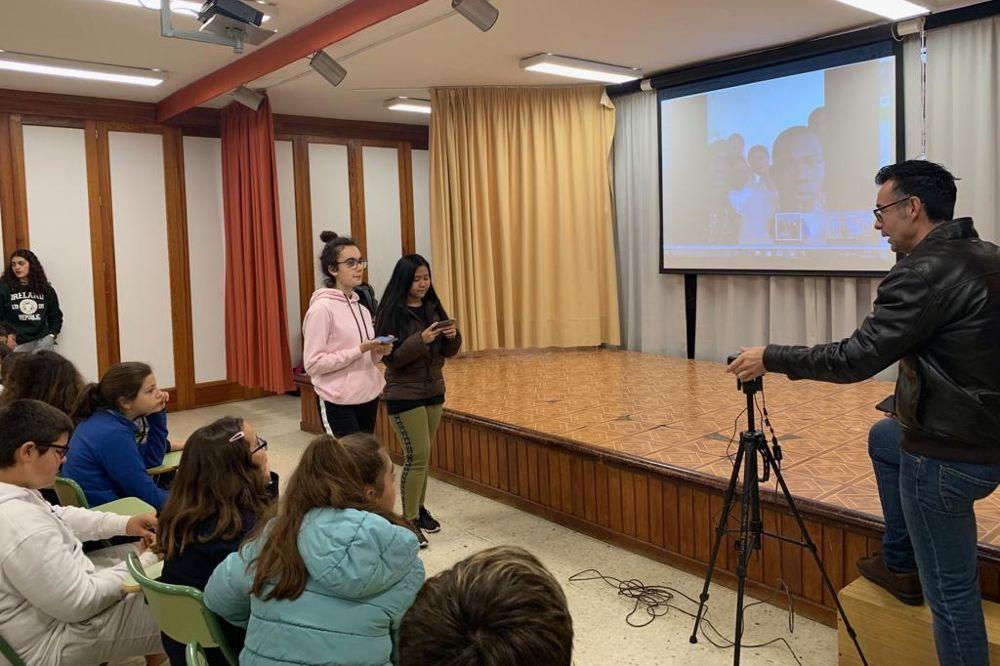 Jóvenes laguneros llevan su proyecto a la RAE y la Unesco