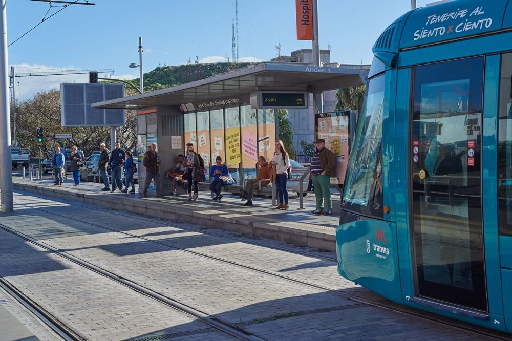 Tranvía de Tenerife.