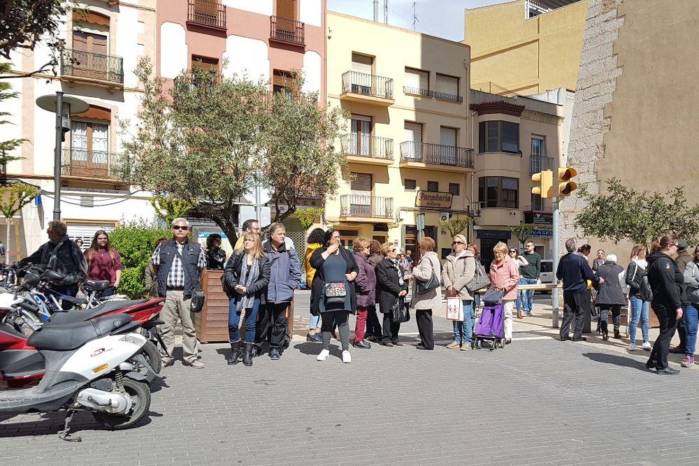 Concentración en Vinaròs.