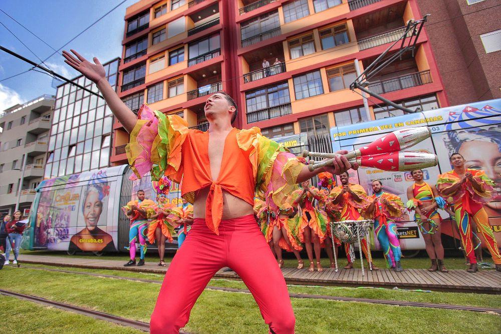 CirCuba llega a Tenerife para repartir ritmo y color