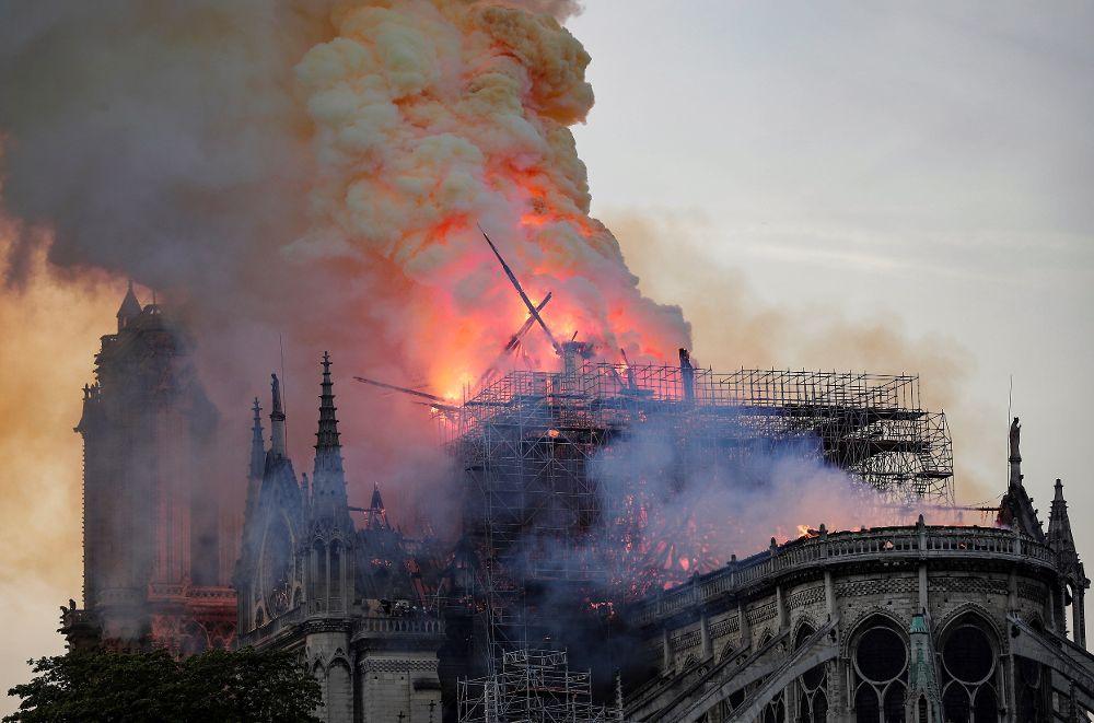 El fuego arrasa la Catedral de Notre Dame, un eje de la cultura europea
